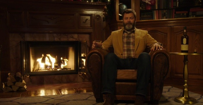 Nick Offerman has released his own Yule Log video and it's everything we want for Christmas