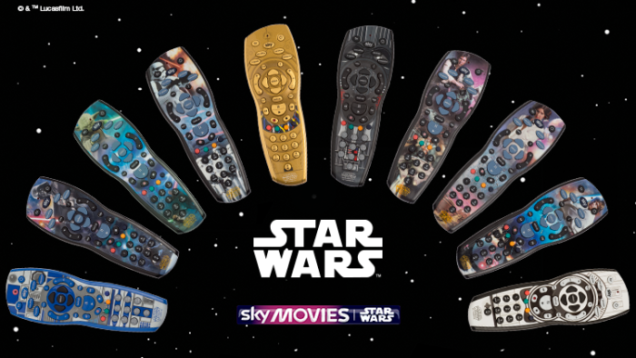 Sky releases range of Star Wars remote controls