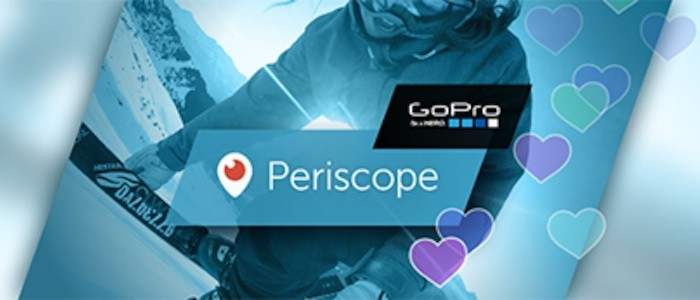 GoPro partners with Periscope for live streaming