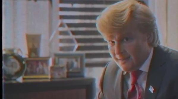 Johnny Depp plays Donald Trump in surprise spoof biopic