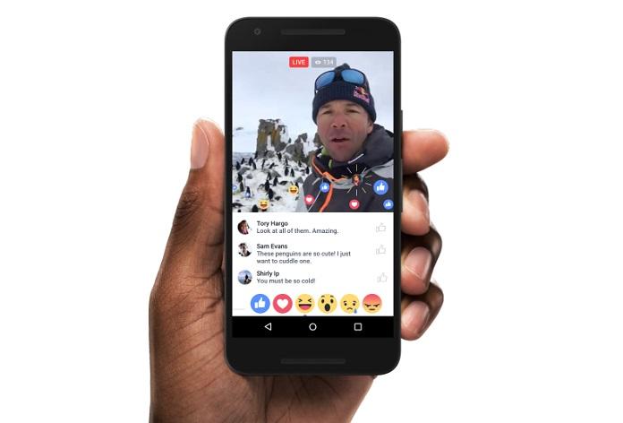 Facebook steps up live video service