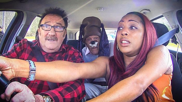 Tinchy Strider teams up with Chuckle Brothers for All 4 celebrity car series