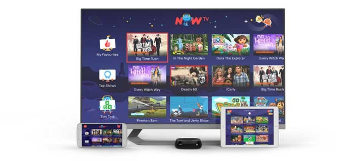 NOW TV launches new Kids Pass for £2.99 a month