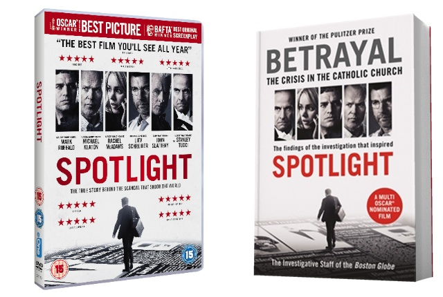 Competition: Win Spotlight and the Boston Globe's book that inspired it