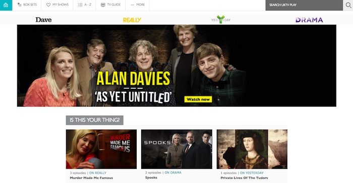 UKTV Play launches revamped website