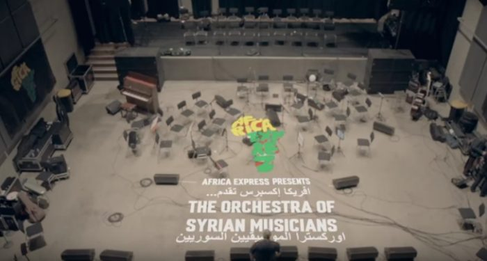 The Orchestra of Syrian Musicians and Damon Albarn concert to stream live on YouTube