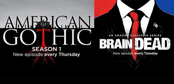 Amazon acquires UK TV rights for CBS' American Gothic and BrainDead