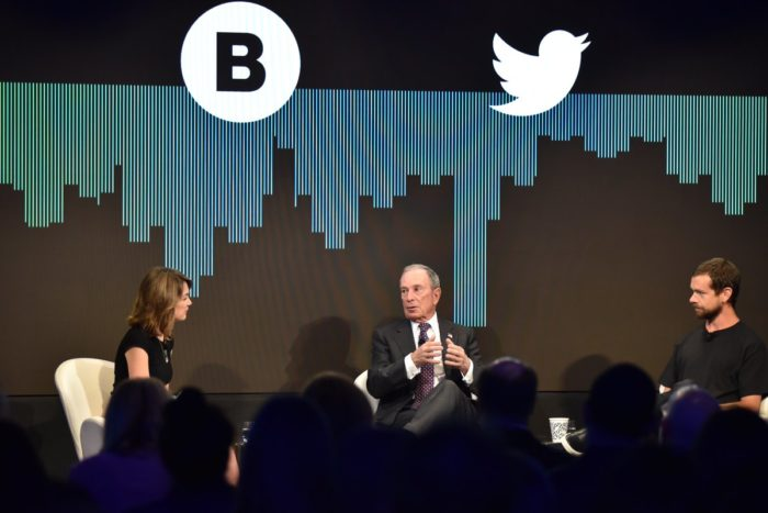"""Twitter and Bloomberg to create """"unprecedented"""" live video news service"""