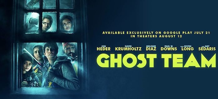 Jon Heder's Ghost Team gets free Google Play release