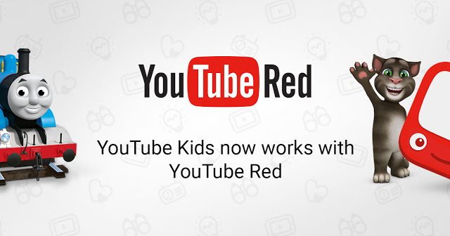 YouTube Red brings ad-free service to YouTube Kids