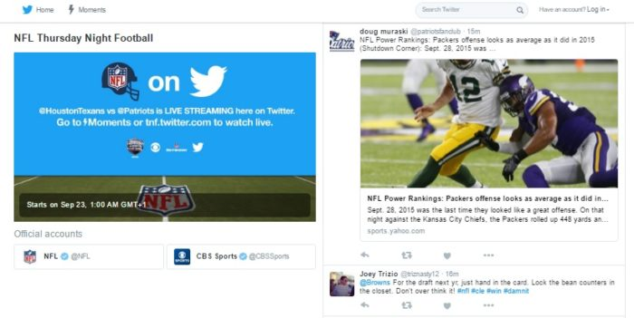 Was Twitter's NFL live-stream a success?