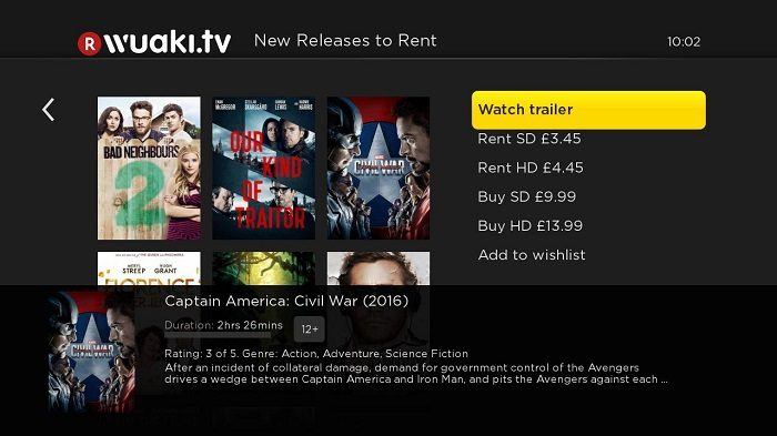 Wuaki.tv launches on Roku UK streaming players