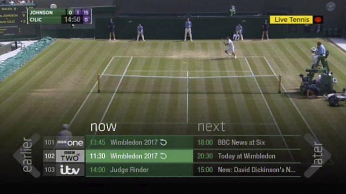 BBC iPlayer adds live restart to TV guides