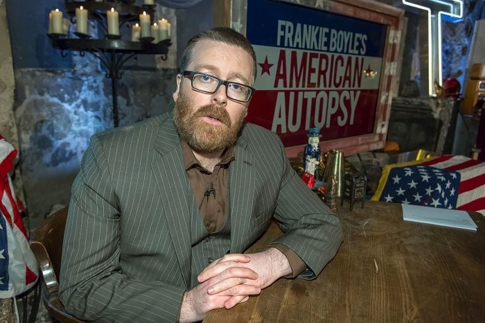 BBC iPlayer TV review: Frankie Boyle's American Autopsy