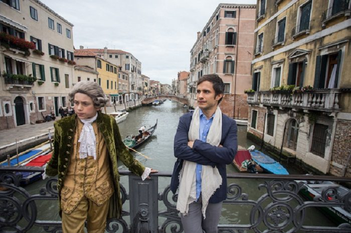 Go behind the scenes of Mozart in the Jungle with new clip