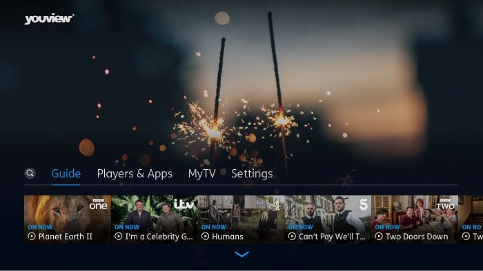 YouView unveils revamped interface