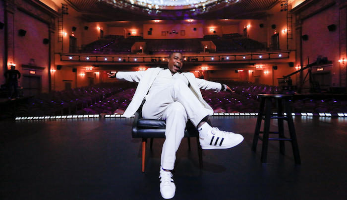 Netflix releases clip of Tracy Morgan's Staying Alive