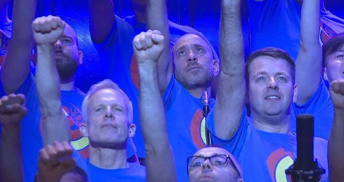Watch: London Gay Men's Chorus introduce Who's Gonna Love Me Now?