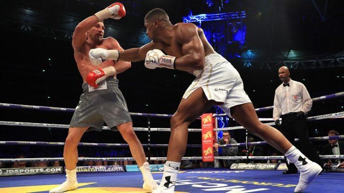 Sky releases Anthony Joshua vs. Wladimir Klitschko highlights in VR