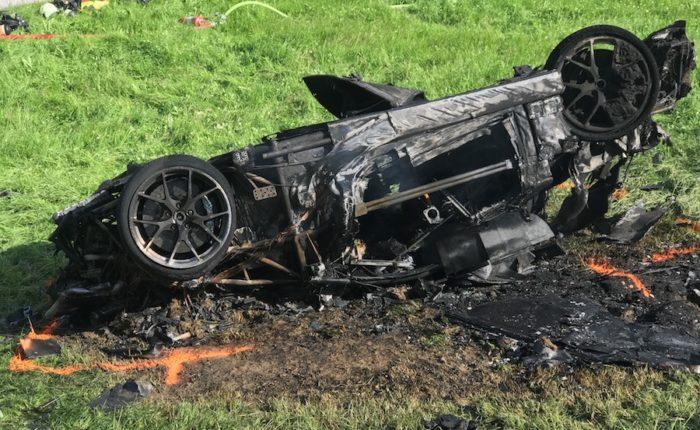 Richard Hammond injured in The Grand Tour car crash