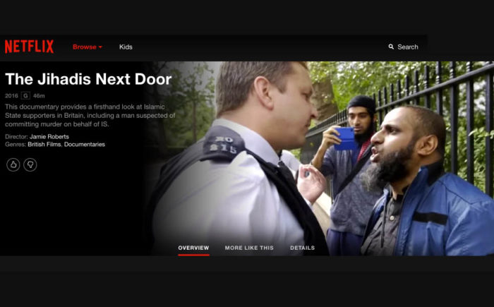 The Jihadis Next Door removed from Netflix