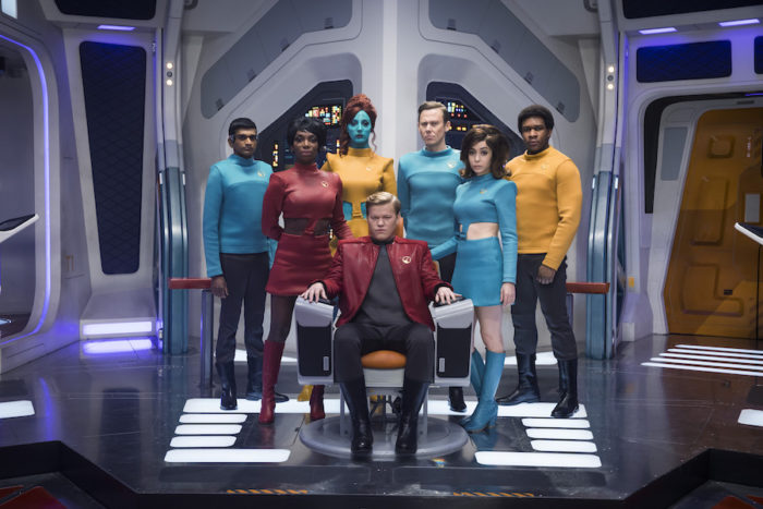 Jesse Plemons boldly goes full Captain Kirk in first Black Mirror Season 4 photos