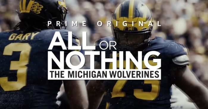Trailer: All or Nothing goes to college to follow The Michigan Wolverines