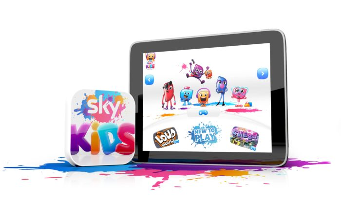 Sky Kids app adds games to streaming line-up