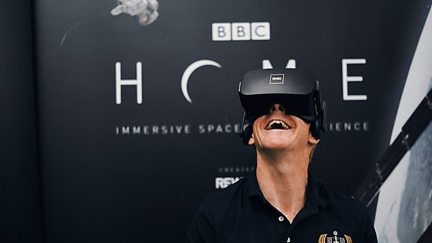 BBC launches new VR spacewalk experience