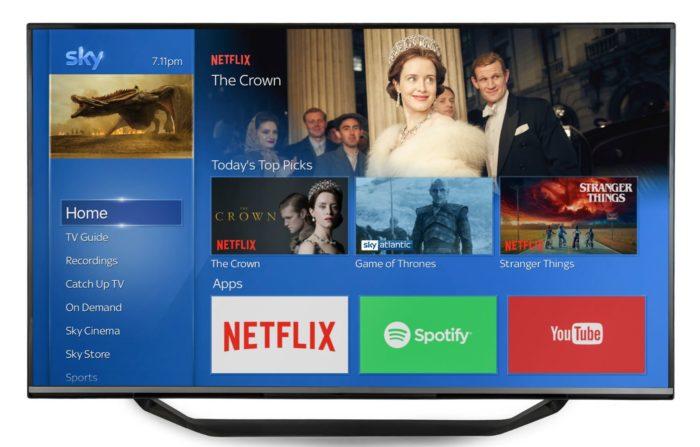 Sky extends deal with Netflix