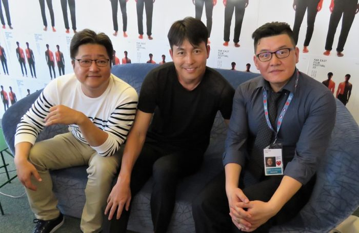 Interview: Jung Woo-sung, Kwak Do-won and Yang Woo-suk talk Netflix's Steel Rain