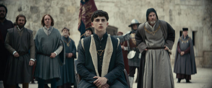 Watch: Robert Pattinson and Timothee Chalamet in final trailer for The King