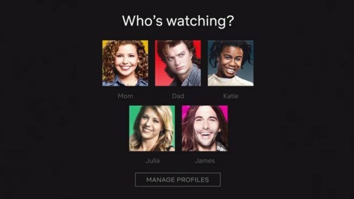 Netflix adds character photos to profile icons