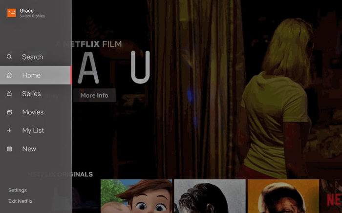 Netflix upgrades TV app interface