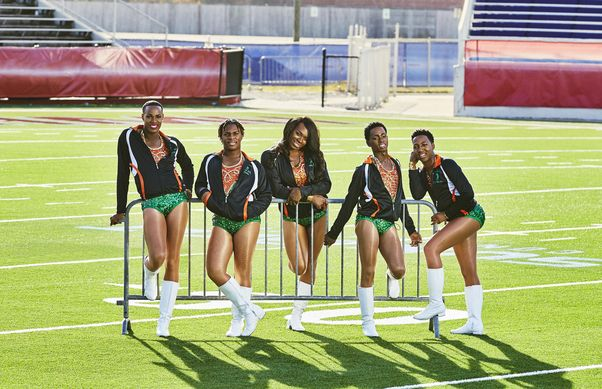 All 4 snaps up The Prancing Elites Project and Strut