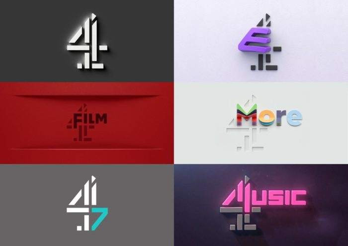 Channel 4 rebrands digital channels with new logos
