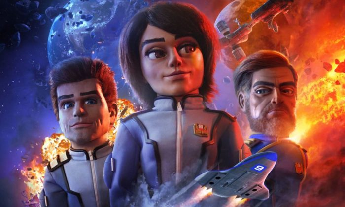 Firestorm: Watch the first episode of Gerry Anderson's new puppet show