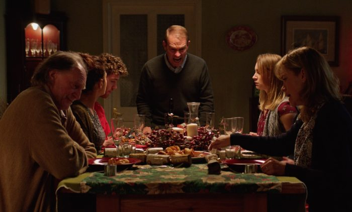 Interview: Cast and crew of Christmas family body-horror Await Further Instructions
