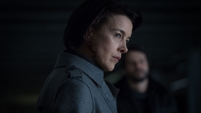 Interview: Olivia Williams talks Counterpart, doppelgängers and juggling identities with J.K. Simmons