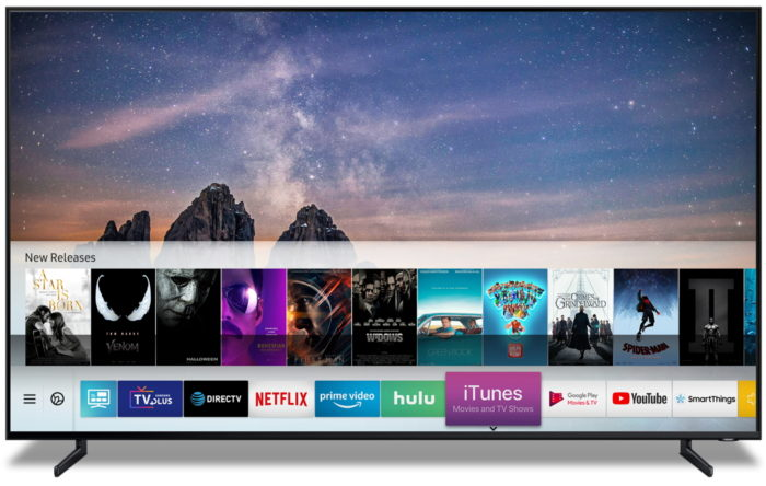 Apple to launch ITunes on Samsung Smart TVs this spring