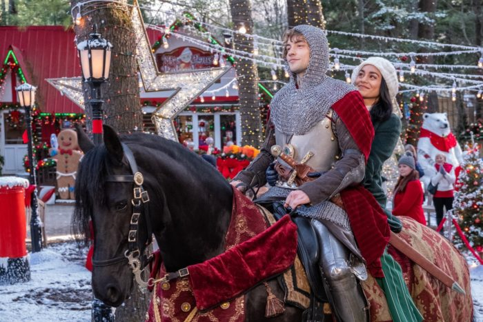 Netflix UK film review: The Knight Before Christmas