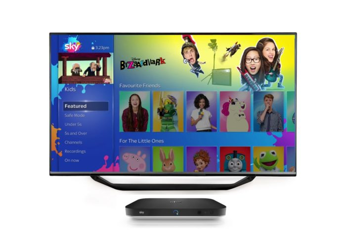 Sky Q launches new Kids Safe Mode