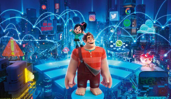 Ralph Breaks The Internet tops film chart