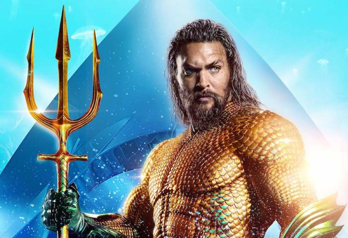 Aquaman beats Spider-Man to top of Official Film Chart
