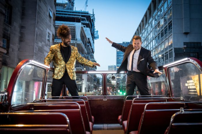 The Late Late Show with James Corden returns to Sky One for its third UK trip