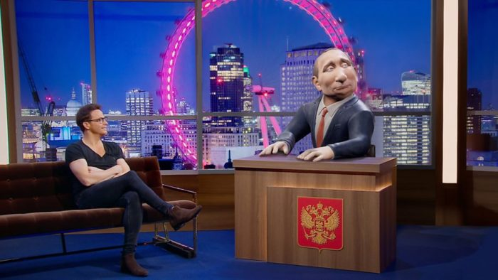 BBC Two announces brand new chat show hosted by Vladimir Putin