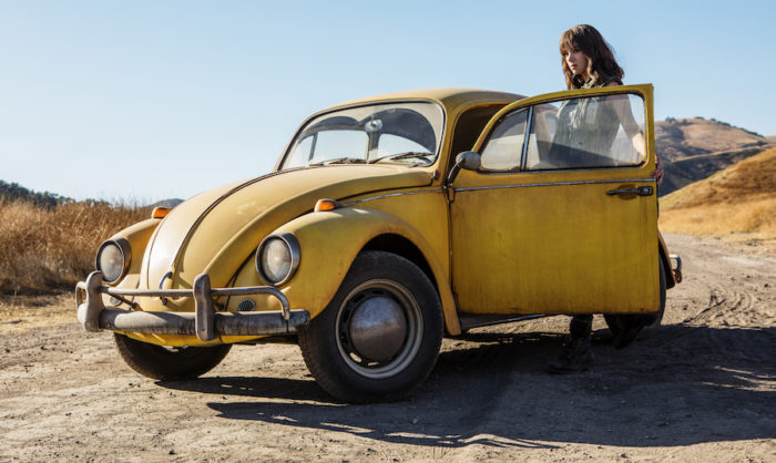 Bumblebee flies to Number 1 in UK Official Film Chart