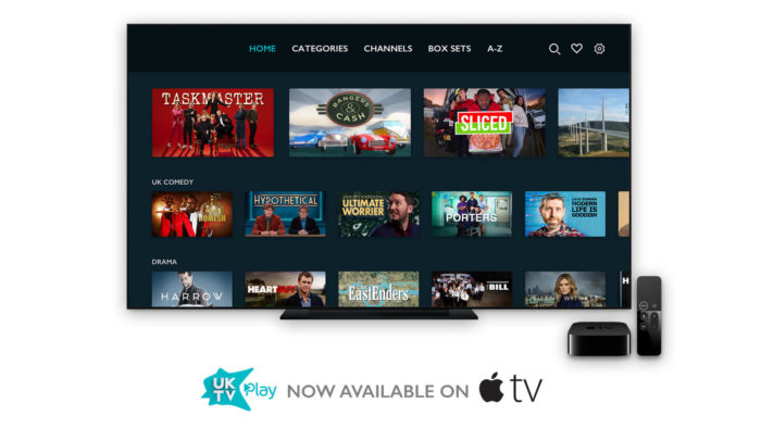 UKTV Play launches on Apple TV