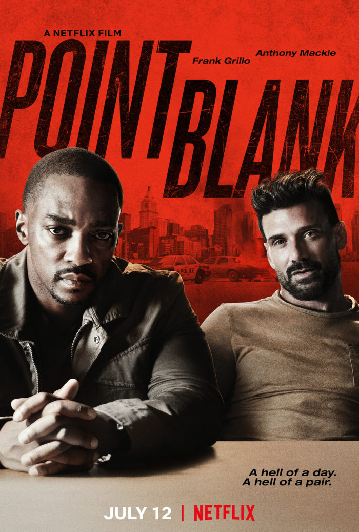 Trailer: Anthony Mackie and Frank Grillo team up for Netflix's Point Blank