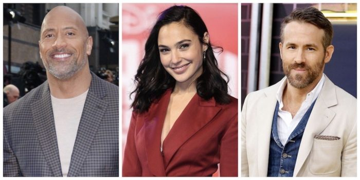 Dwayne Johnson, Gal Gadot and Ryan Reynolds to star in Netflix's Red Notice